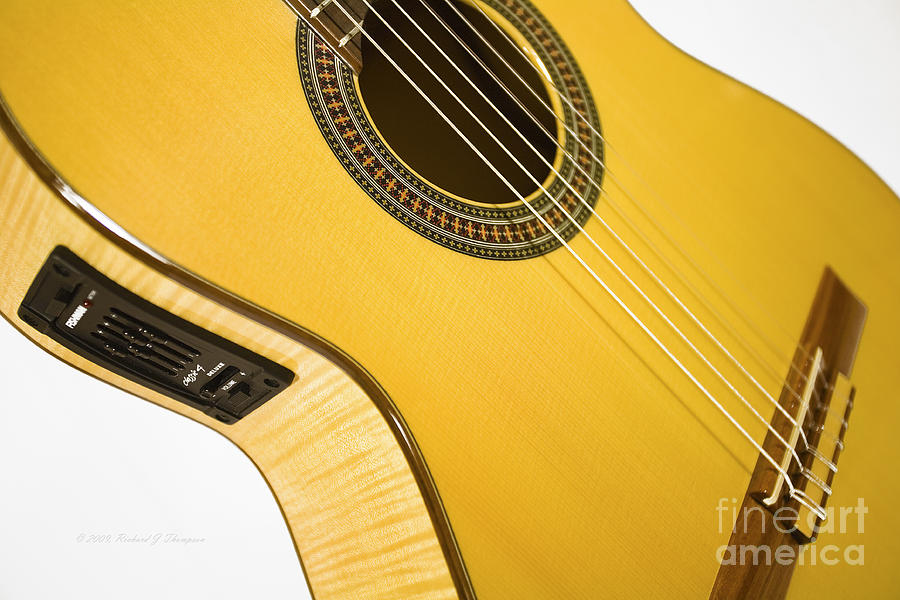 Yellow Guitar by Richard J Thompson