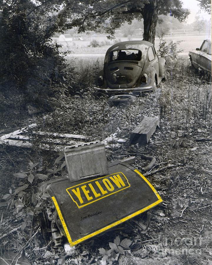 Abandoned Photograph - Yellow by   Joe Beasley