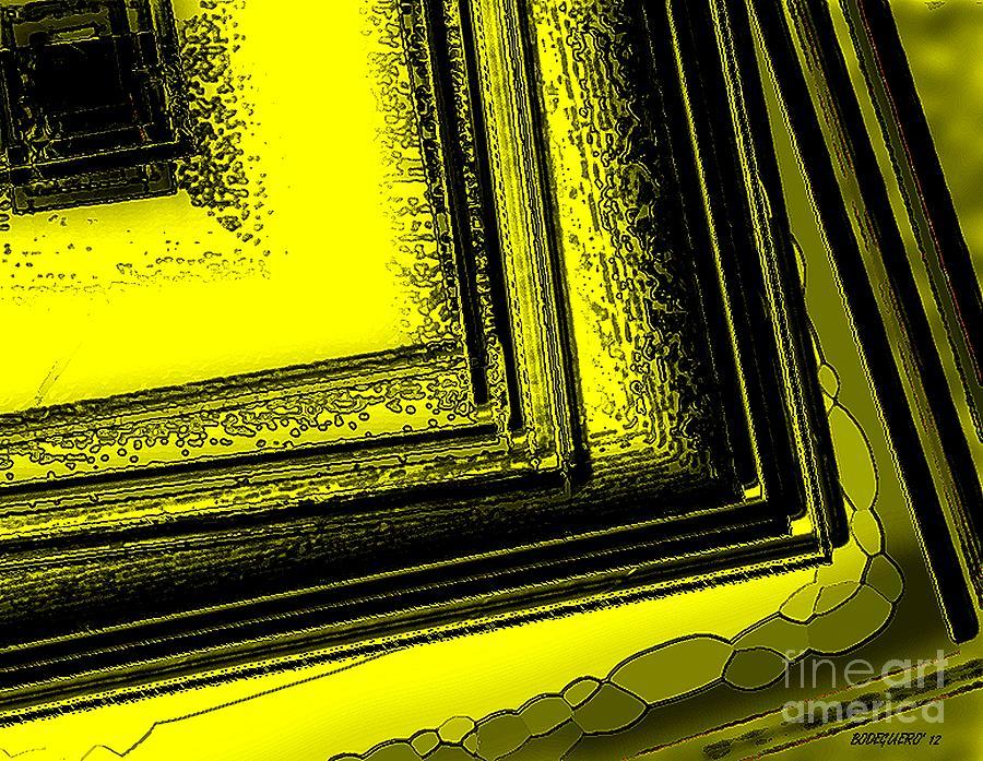 Yellow Art Digital Art - Yellow Over Yellow Art by Mario Perez