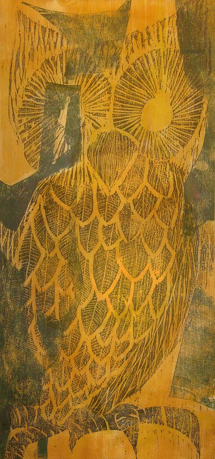 Yellow Owl by David Burkart
