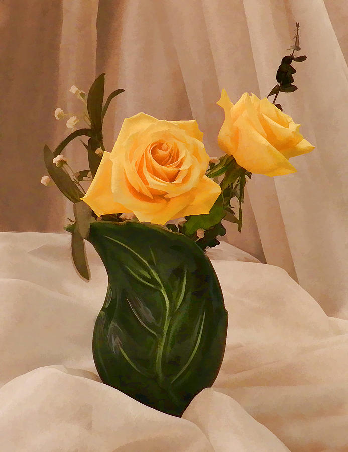 Yellow Roses For Friendship Photograph