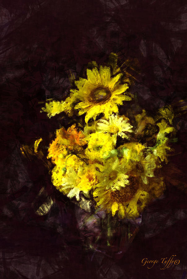 Yellow still life by George Tuffy