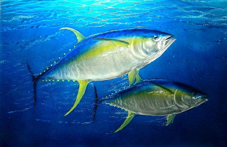 Painted Metal Fish
