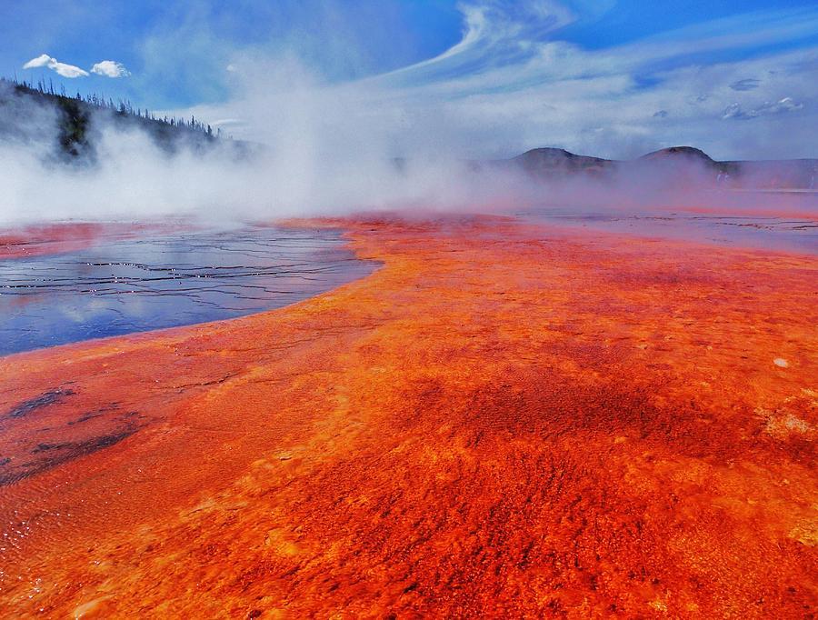 Yellowstone Photograph - Yellowstone Basin by Benjamin Yeager