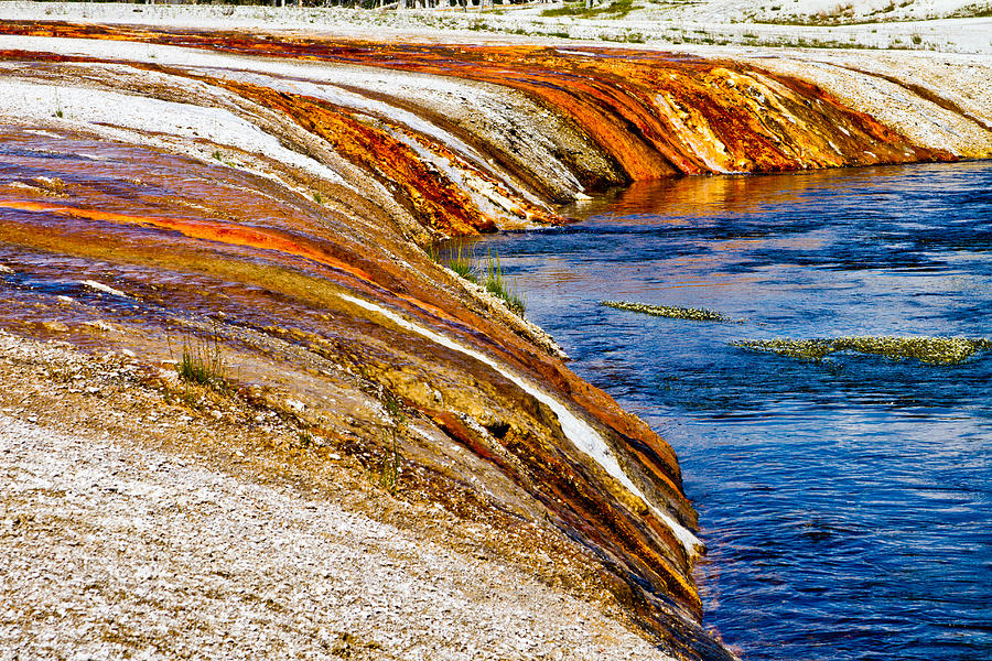 Yellowstone Photograph - Yellowstone Earthtones by Bill Gallagher