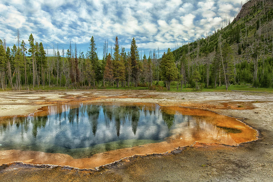 Yellowstone National Park Photograph by Patrick Leitz