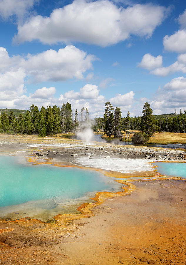 2013.09: Grand Prismatic Spring Overlook, Yellowstone