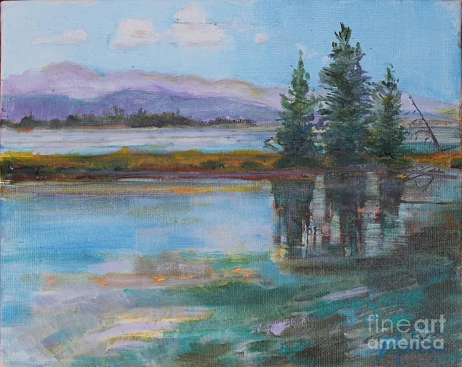 Yellowstone Reflections by Patricia Amen