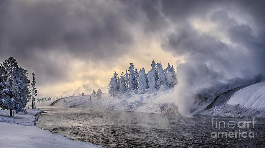 Yellowstone Winter Wonderland Photograph
