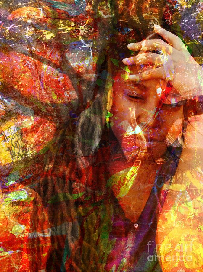 Fania Simon Mixed Media - Yep  by Fania Simon