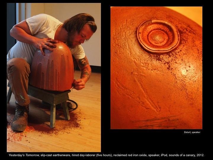 Speaker Ceramic Art - Yersterdays Tomorrow by Ian Thomas
