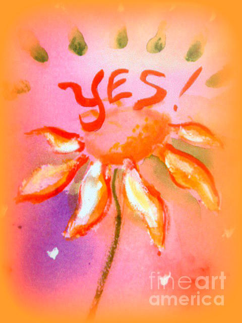 yes Painting by Wendy Wiese