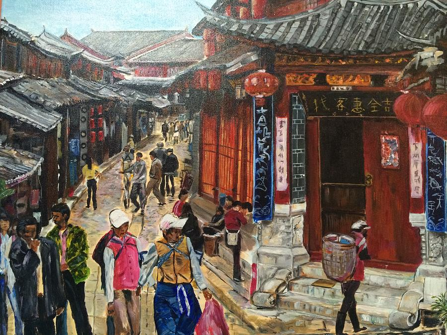 Heritage Painting - Yesterday Once More by Belinda Low