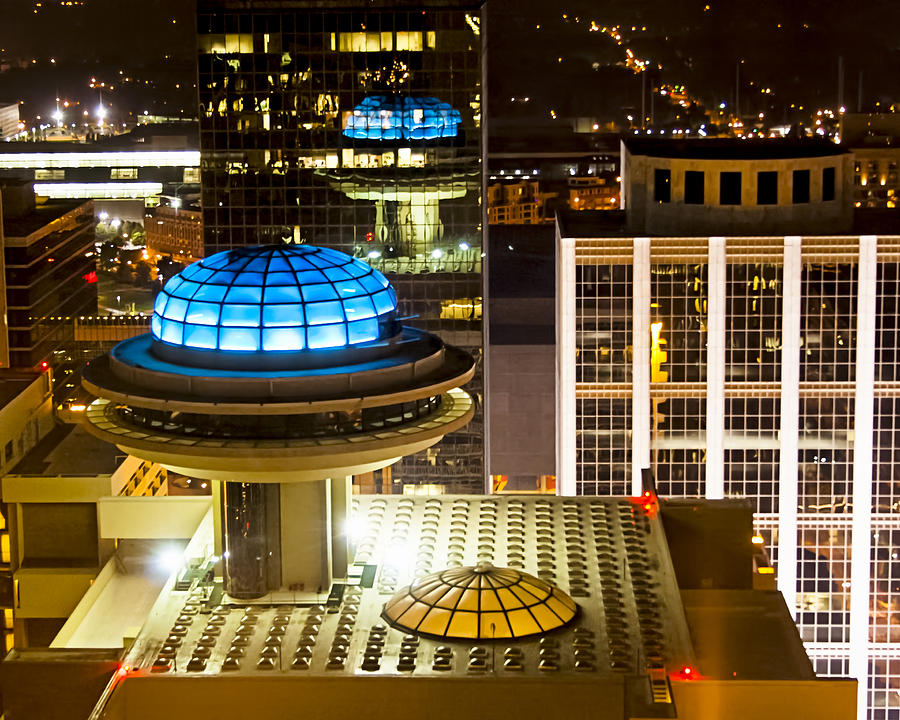 Atlanta Photograph - Yesterdays Future - Classic Atlanta Skyline by Mark E Tisdale
