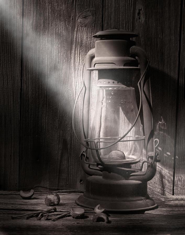 Lantern Photograph - Yesterdays Light by Tom Mc Nemar