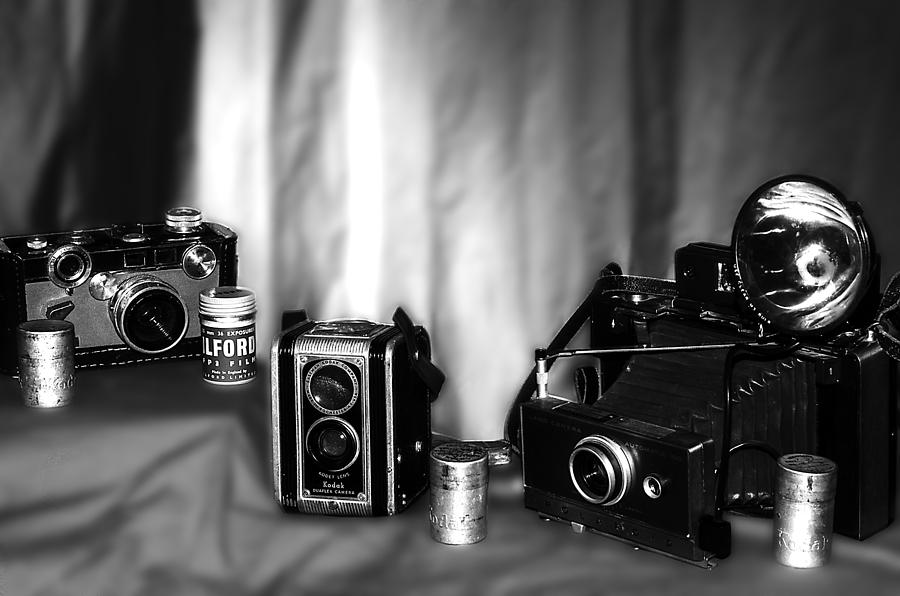 Camera Photograph - Yesterdays Tools by Camille Lopez