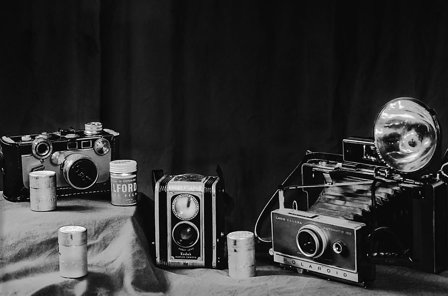 Camera Photograph - Yesterdays Tools II by Camille Lopez