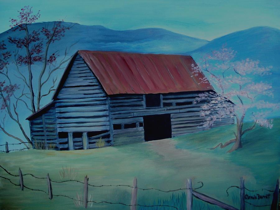Original Painting - Yesteryear by Glenda Barrett