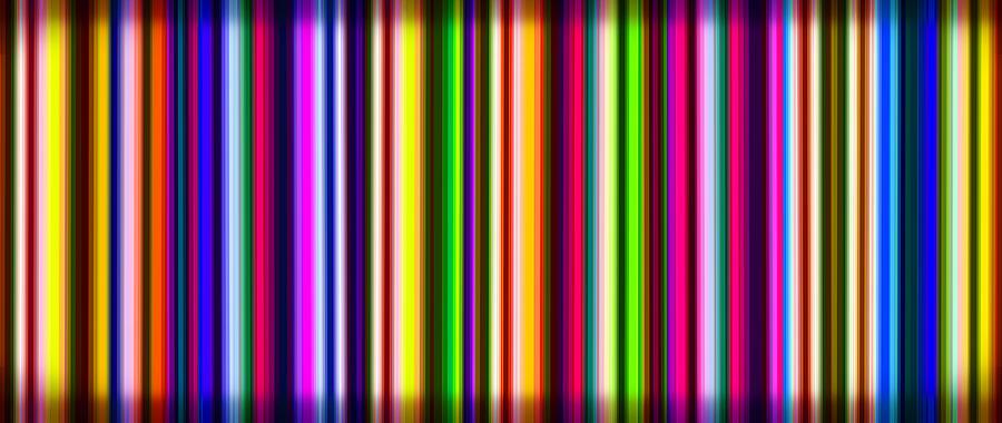 Stripes Digital Art - Yikes Stripes by Ginny Schmidt