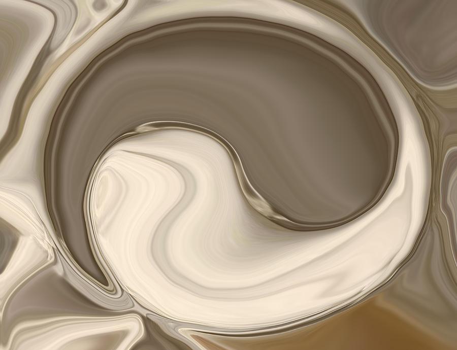 Yin Yang Painting - Yin Yang by Chad Miller
