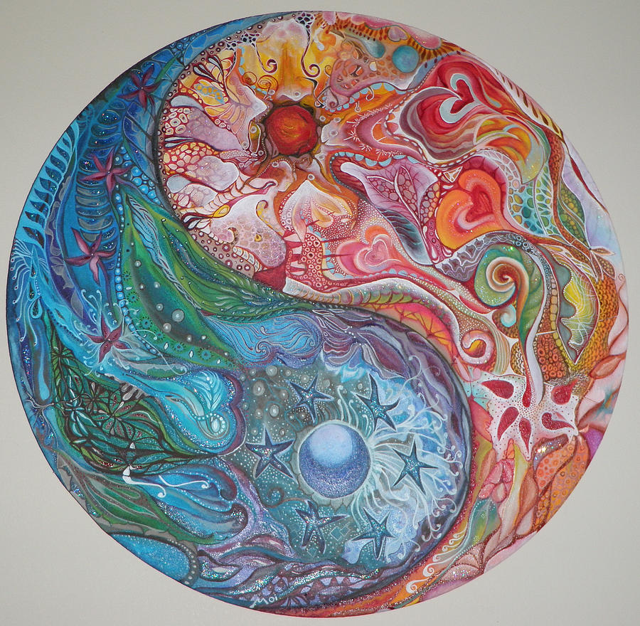 Yin Yang Mandala Moira Gil as well Gothic Numbers in addition 73573322325 together with Blue Lotus Silvia Duran in addition 203999058093866663. on trippy artwork for sale
