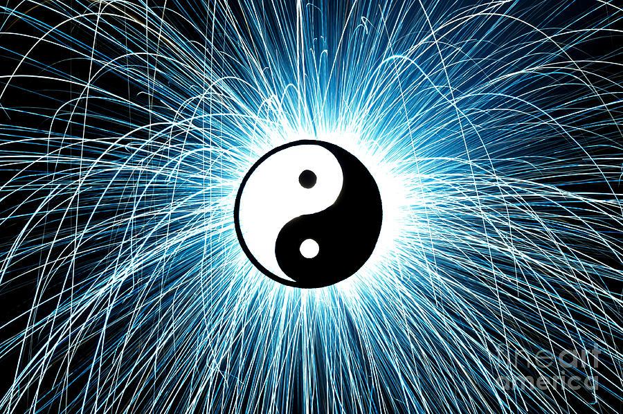 Yin Yang Photograph - Yin Yang by Tim Gainey