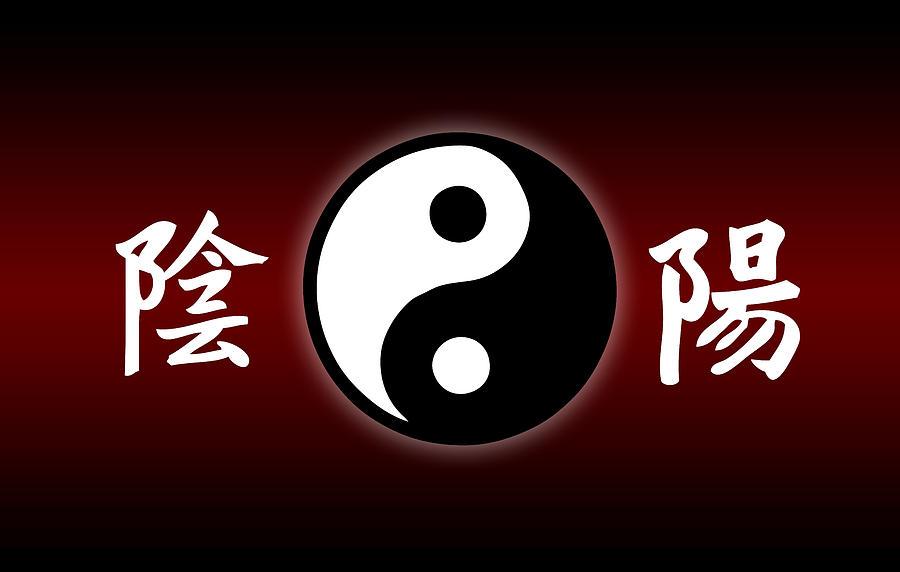 Yinyang Symbol Painting By Raphael Sanzio
