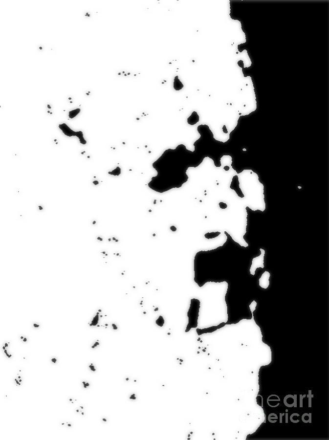 Abstract Mixed Media - Yod by Daniel Brummitt
