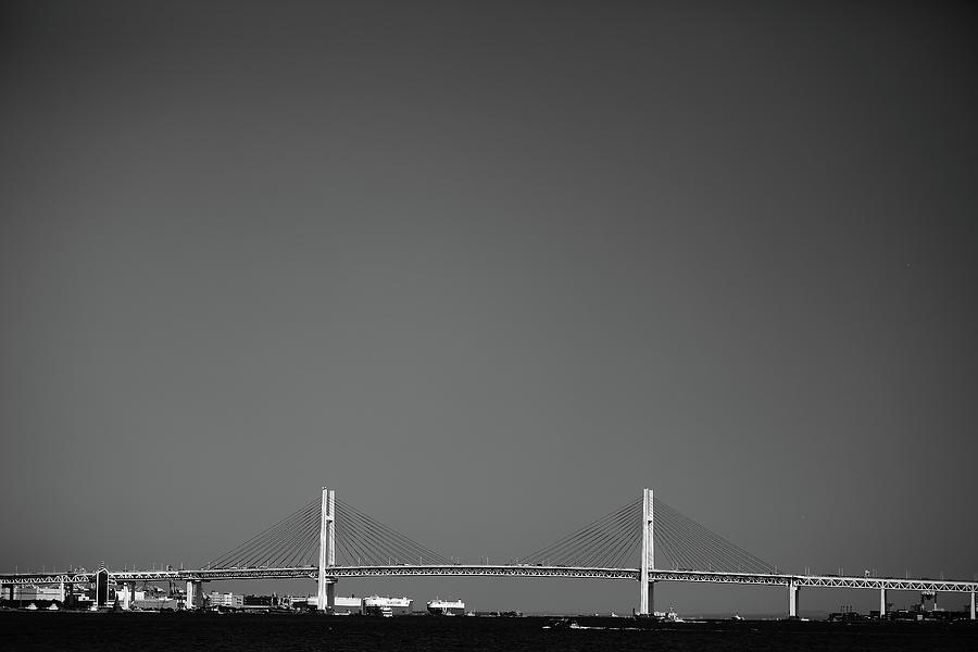 Yokohama Bay Bridge Photograph by Kiyoshi Noguchi