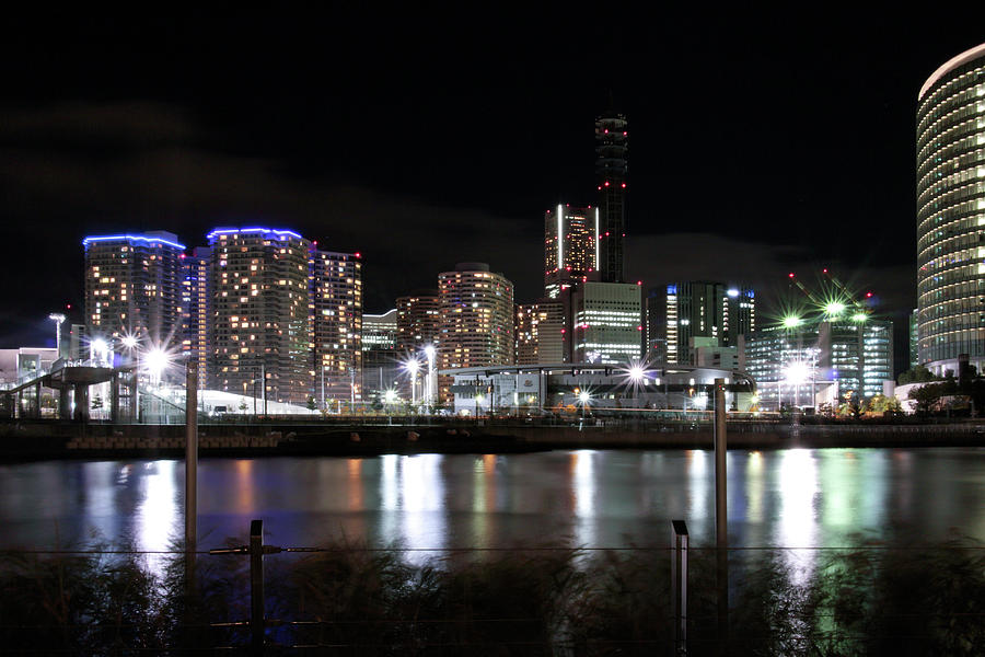 Yokohama Minato Mirai Photograph by Digipub