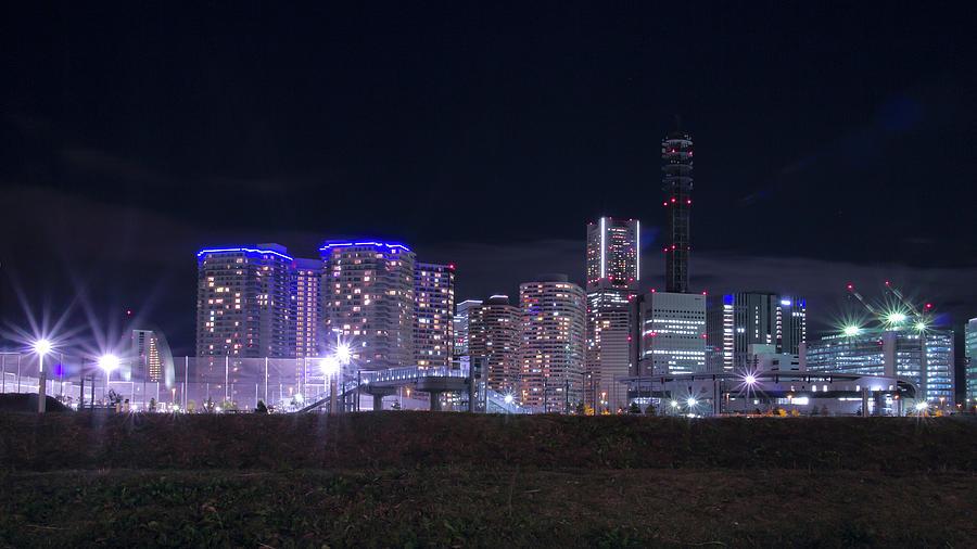 Yokohama Minato Mirai Night View Photograph by Digipub