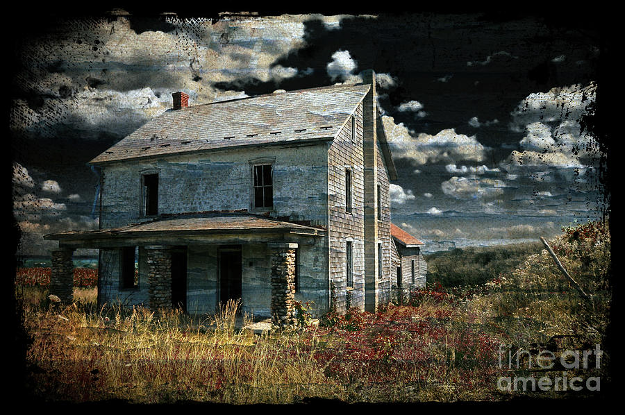 House Photograph - Yoooo Hooooo by Lois Bryan