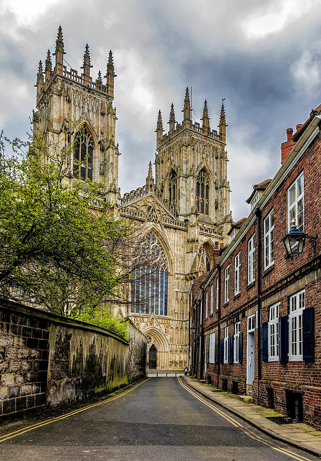 York Photograph - York Minster England by Trevor Kersley