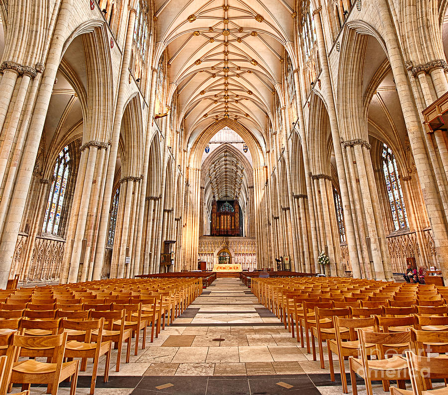 Cathedral Photograph - York Minster I by Jack Torcello