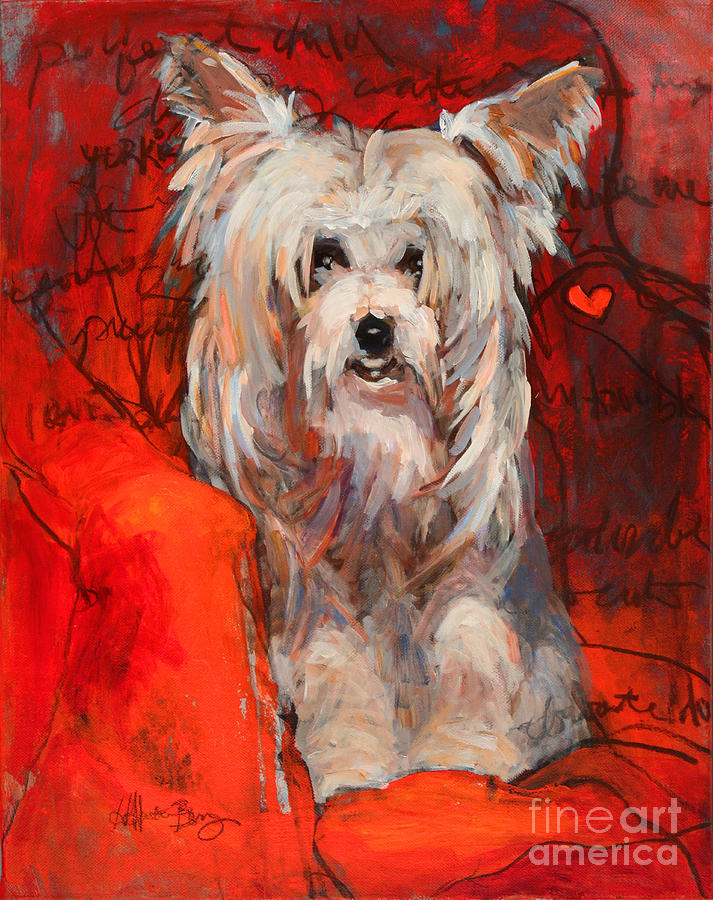 Yorkie by Holly Hunter Berry