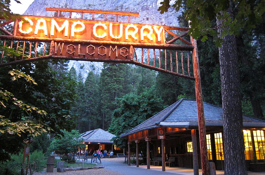 Yosemite Curry Village Photograph by Shane Kelly