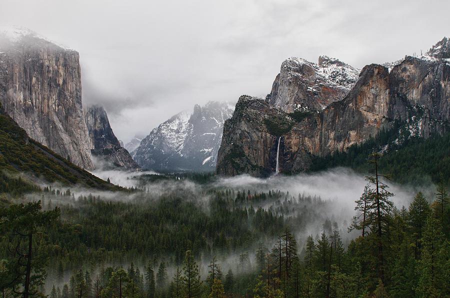 Yosemite Photograph - Yosemite by Jay Seeley