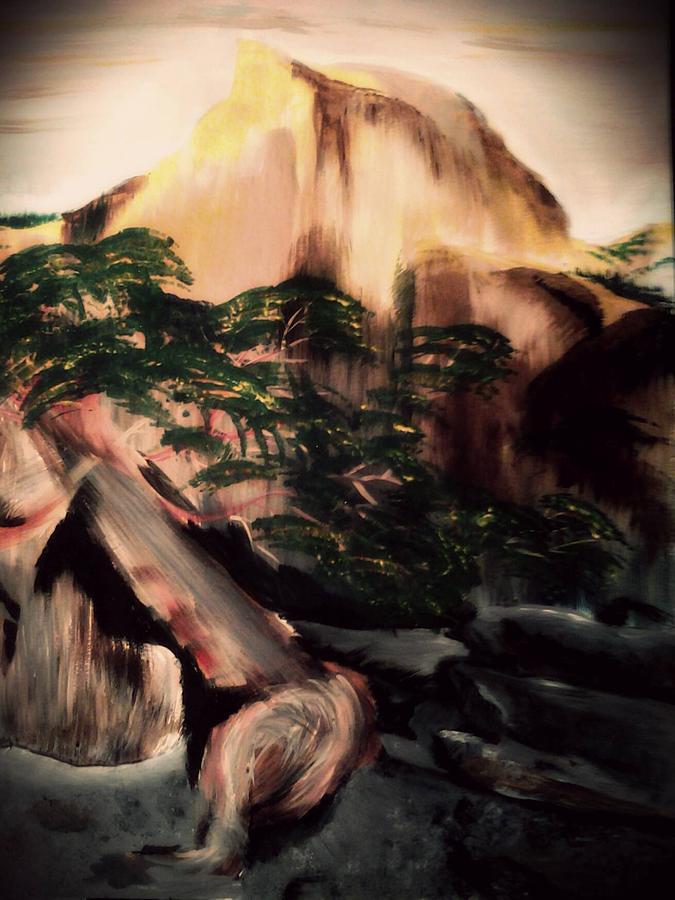 Yosemite Painting - Yosemite by Magdalena Silbertson