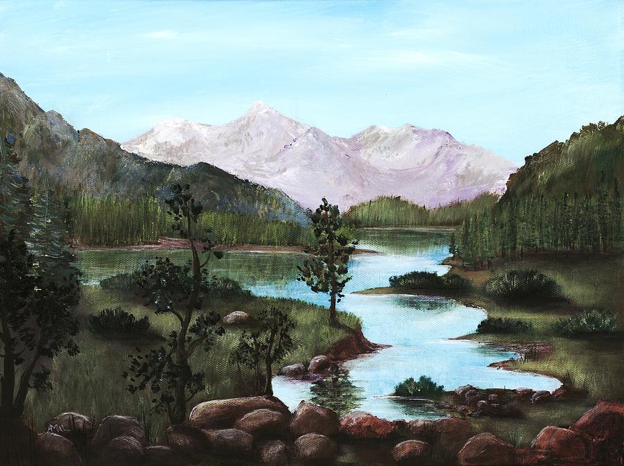 Interior Painting - Yosemite Meadow by Anastasiya Malakhova