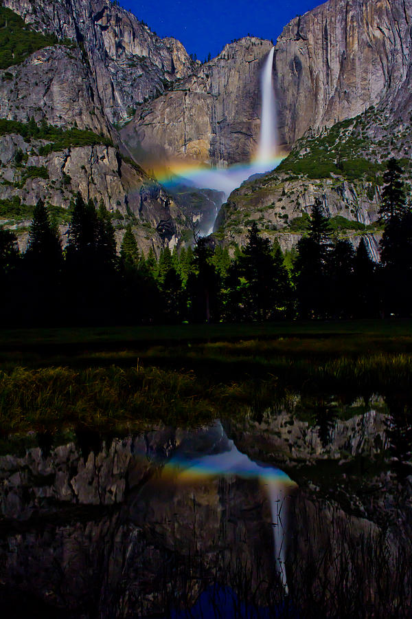 Yosemite Moonbow by John McGraw