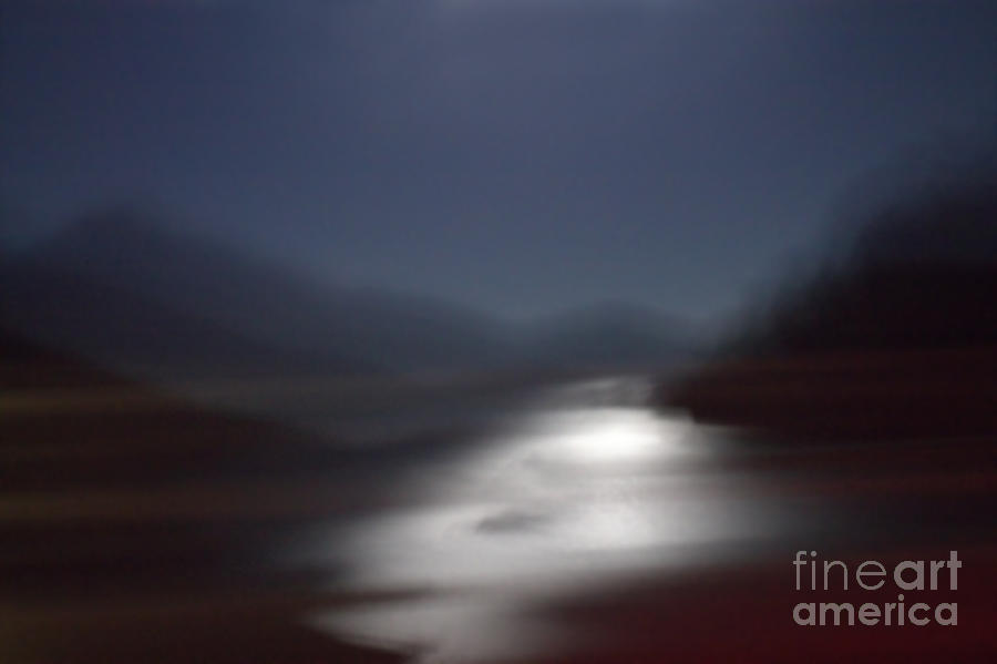 Yosemite Photograph - Yosemite Moonlight by Tonja Gabryshak Howard