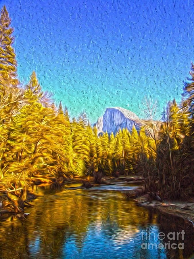 Yosemite Digital Art - Yosemite by Nur Roy
