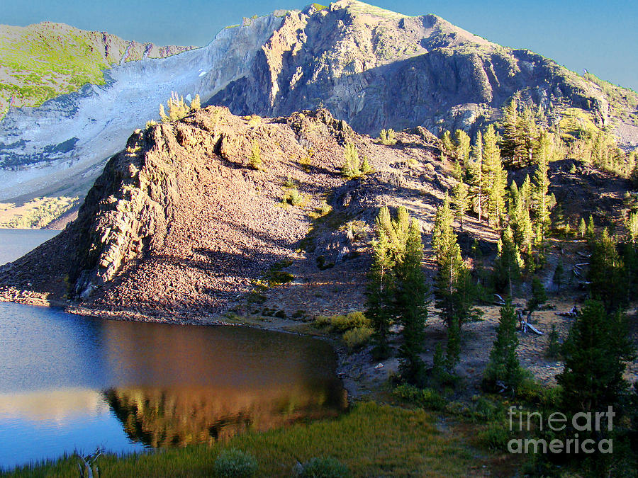 Landscape Photograph - Yosemite Reflection by Eva Kato