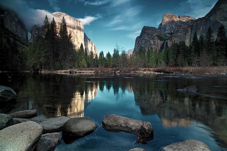 Yosemite Valley Photograph by Joe Ganster