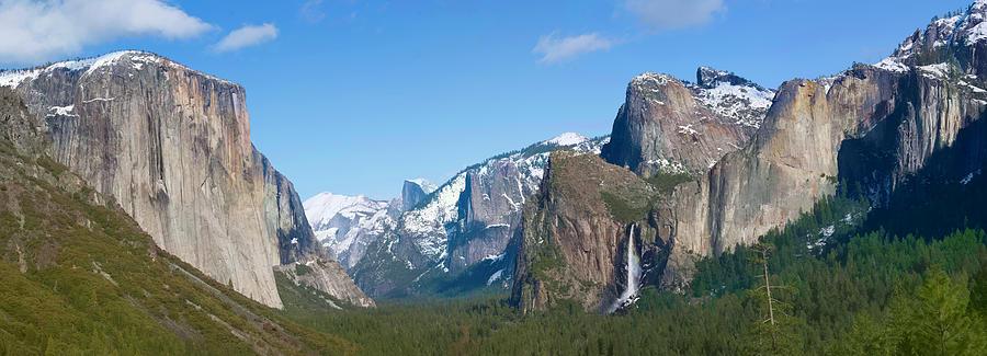 Yosemite Photograph - Yosemite Valley Visualized by Gregory Scott