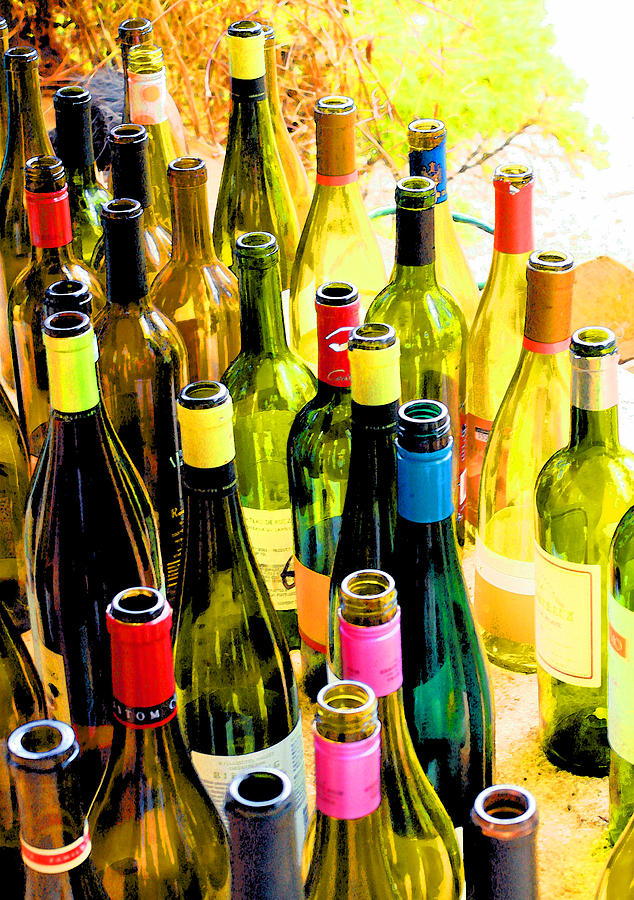 Wine Tasting Photograph - You Are Invited To A Wine Tasting... by Margaret Hood