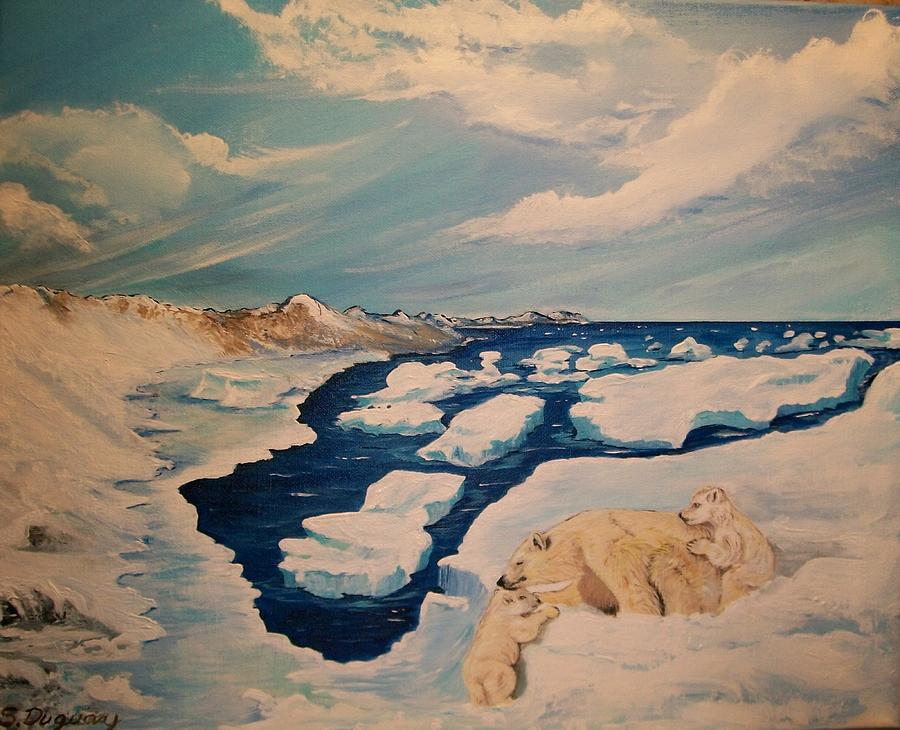 Alaska Painting - You Can Make It by Sharon Duguay