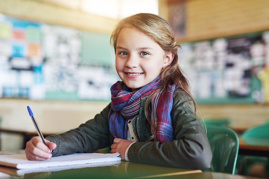 You can see shes ready to write the test Photograph by PeopleImages