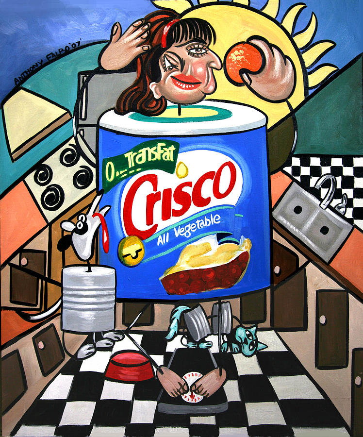 You Can't Pick Your Own Can Painting - You Cant Pick Your Own Can by Anthony Falbo