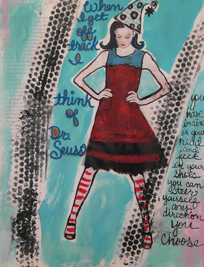 Dr. Seuss Mixed Media - You Choose by Debbie Hornsby